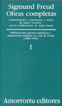 Libro OBRAS COMPLETAS:VISIONES PREPSICOANALITICAS Y MANUSCRITOS INEDITOS EN VIDA DE FREUD