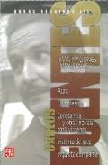 Libro OBRAS REUNIDAS III: IMAGINACIONES MEXICANAS: AURA; CUMPLEAÑOS; CO NSTANCIA Y OTRAS NOVELAS PARA VIRGENES; INSTINTO DE INEZ; INQUIETA COMPAÑIA