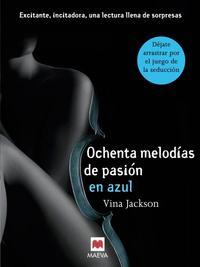 Libro OCHENTA MELODÍAS DE PASIÓN EN AZUL