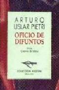 Libro OFICIO DE DIFUNTOS