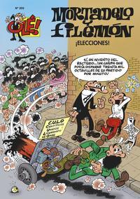 Libro OLE MORTADELO Nº 203: ¡ELECCIONES!