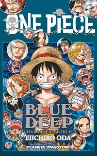 Libro ONE PIECE GUIA Nº 5:BLUE DEEP