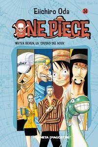 Libro ONE PIECE Nº 34
