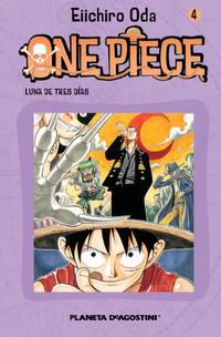Libro ONE PIECE Nº 4