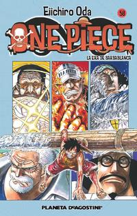Libro ONE PIECE Nº 58
