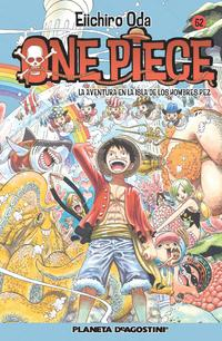 Libro ONE PIECE Nº 62