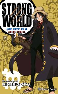 Libro ONE PIECE STRONG WORLD Nº 02