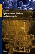 Libro OPERACIONES BASICAS DE LABORATORIO