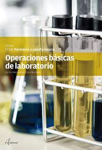 Libro OPERACIONES BASICAS LABORATORIO