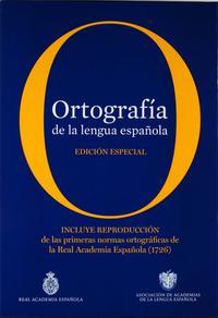 Libro ORTOGRAFIA DE LA LENGUA ESPAÑOLA: EDICION ESPECIAL. INCLUYE EDICI ON FACSIMILAR DEL PRONTUARIO DE ORTOGRAFIA DE LA LENGUA CASTELLANA, DE 1844
