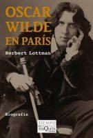 Libro OSCAR WILDE EN PARIS