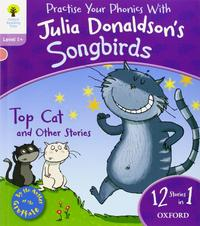 Libro OXFORD READING TREE SONGBIRDS: LEVEL 1+: TOP CAT AND OTHER STORIES