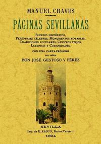 Libro PAGINAS SEVILLANAS