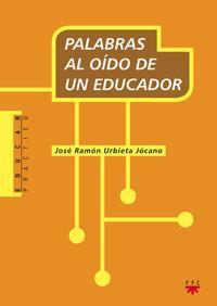 Libro PALABRAS AL OIDO DE UN EDUCADOR