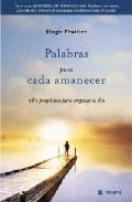 Libro PALABRAS PARA CADA AMANECER