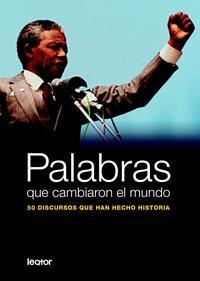 Libro PALABRAS QUE CAMBIARON EL MUNDO