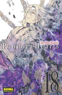 Libro PANDORA HEARTS 18
