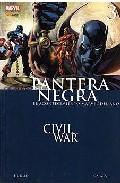 Libro PANTERA NEGRA: CIVIL WAR