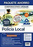 Libro PAQUETE AHORRO POLICÍA LOCAL DE CORPORACIONES LOCALES. TEMARIO TEMARIO GENERAL VOLÚMENES 1 Y 2; TEST DEL TEMARIO GENERAL; SUPPUESTOS PRACTICOS: SIMULACROS DE EXAMEN Y ACCESO GRATIS A CAMPUS ORO