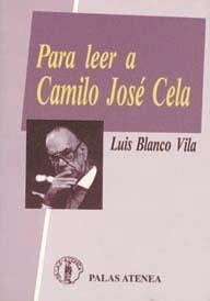 Libro PARA LEER A CAMILO JOSE CELA