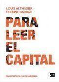 Libro PARA LEER EL CAPITAL