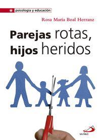 Libro PAREJAS ROTAS, HIJOS HERIDOS