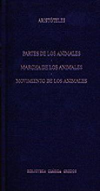 Libro PARTES DE LOS ANIMALES. MOVIMIENTO DE LOS ANIMALES. MARCHA DE LOS ANIMALES