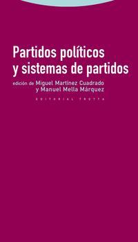 Libro PARTIDOS POLITICOS Y SISTEMAS DE PARTIDOS