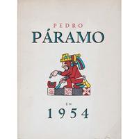 Libro PEDRO PARAMO EN 1954: JUAN RULFO