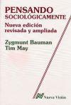 Libro PENSANDO SOCIOLOGICAMENTE