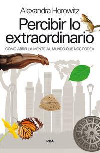 Libro PERCIBIR LO EXTRAORDINARIO
