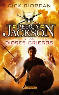 Libro PERCY JACKSON Y LOS DIOSES GRIEGOS
