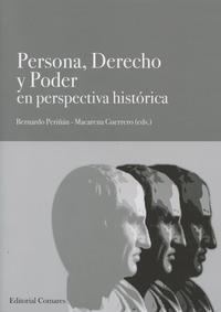 Libro PERSONA, DERECHO Y PODER EN PERSPECTIVA HISTORICA