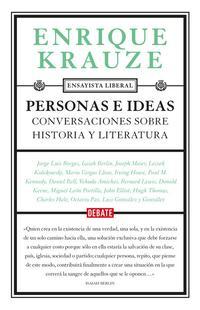Libro PERSONAS E IDEAS: CONVERSACIONES SOBRE HISTORIA Y LITERATURA