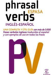 Libro PHRASAL VERBS INGLES - ESPAÑOL