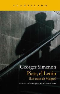 Libro PIETR, EL LETON: LOS CASOS DE MAIGRET