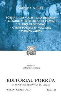 Libro POEMAS. LAS VOCES. LIRA HEROICA