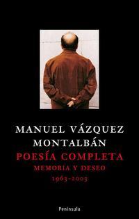 Libro POESIA COMPLETA: MEMORIAS Y DESEO. 1963-2003