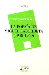 Libro POESIA DE MIGUEL LABORDETA, LA