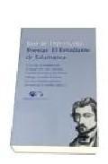 Libro POESIAS. EL ESTUDIANTE DE SALAMANCA