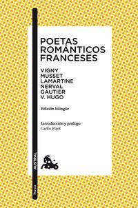 Libro POETAS ROMANTICOS FRANCESES