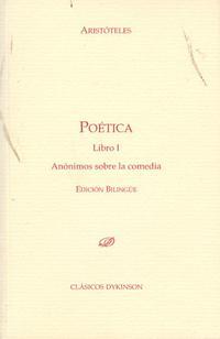 Libro POETICA. LIBRO 1 ANONIMOS SOBRE LA COMEDIA