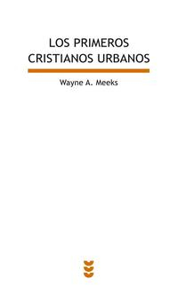 Libro PRIMEROS CRISTIANOS URBANOS