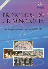 Libro PRINCIPIOS DE CRIMINOLOGIA