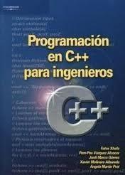 Libro PROGRAMACION EN C++ PARA INGENIEROS