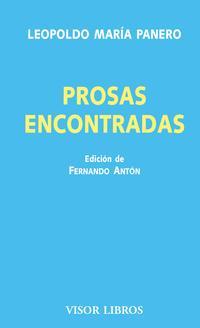 Libro PROSAS ENCONTRADAS