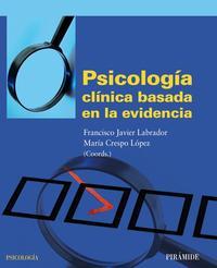 Libro PSICOLOGIA CLINICA BASADA EN LA EVIDENCIA