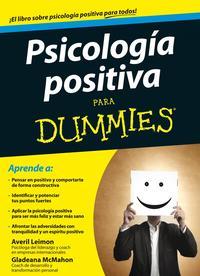 Libro PSICOLOGIA POSITIVA PARA DUMMIES
