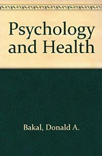 Libro PSICOLOGIA Y SALUD
