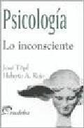 Libro PSICOLOGIA. LO INCONSCIENTE